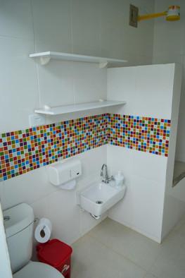 banheiro área externa