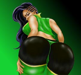 Laura Street Fighter