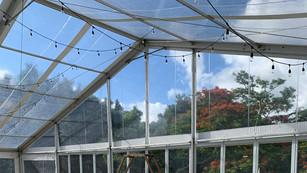 Carpa Estructural Transparente