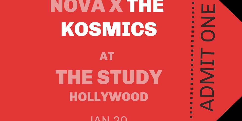 THE KOSMICS at The Study in Hollywood on January 20