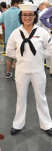 """Jennifer """"Rabbit"""" Rosario, United States Navy"""