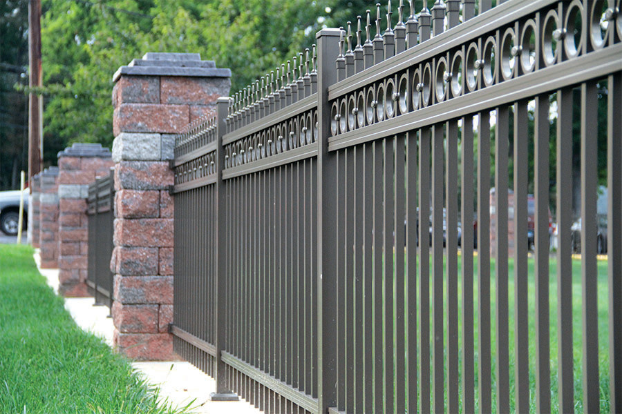 Estate Aluminum Fence
