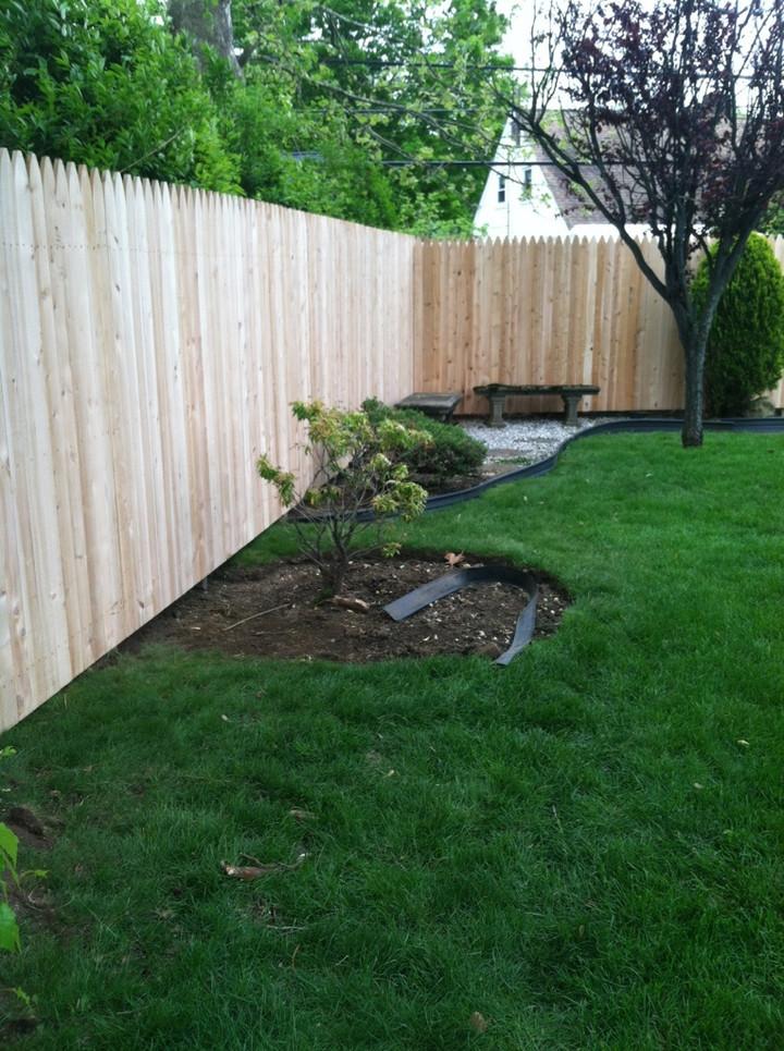 Cedar Wood Fence