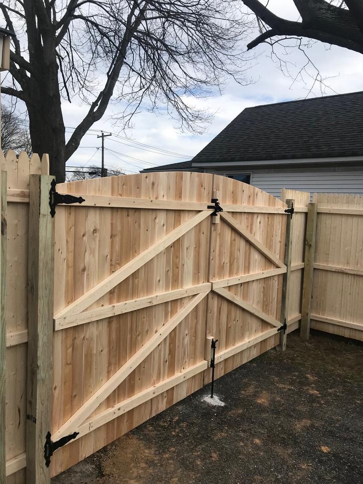 Wood Fence Long Island Ny