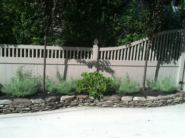 Spindle top Pvc Fence