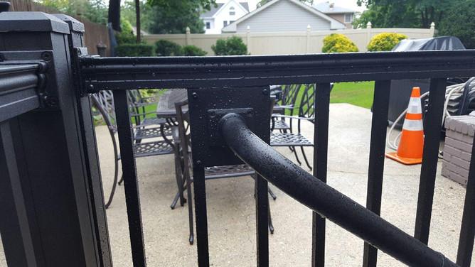 Secondary Handrail