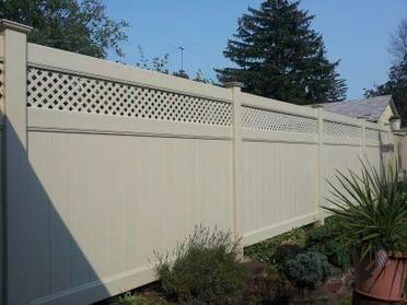 East Meadow Pvc Fence