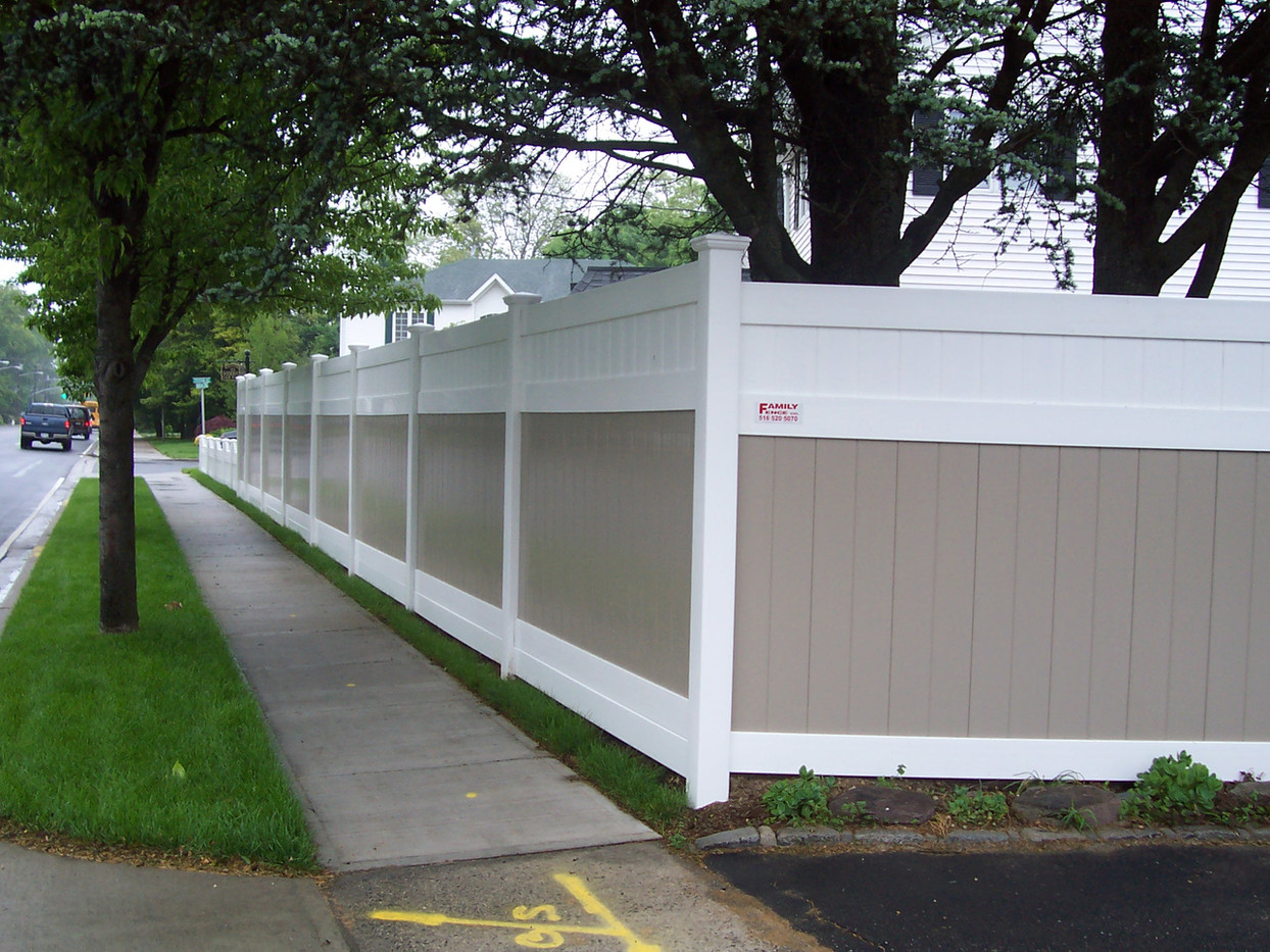 Long Island Pvc Fence