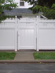 Custom Pvc Gate