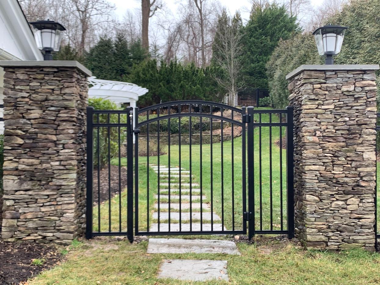 Aluminum Estate Fence