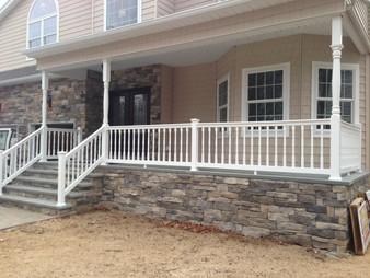 Pvc Porch Railing