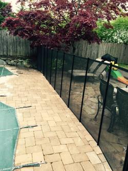 Pool Mesh Fence