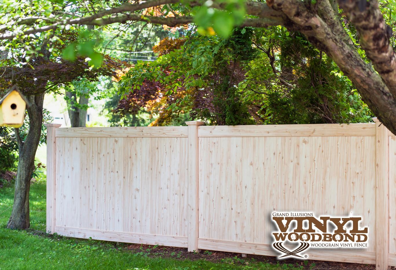 White Cedar Pvc Fence