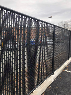 Black Chainlink Fence