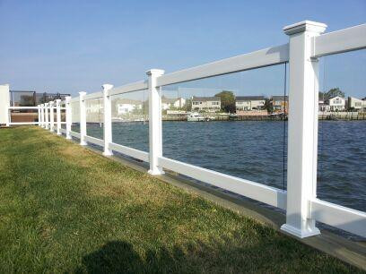 Solid Glass Railing