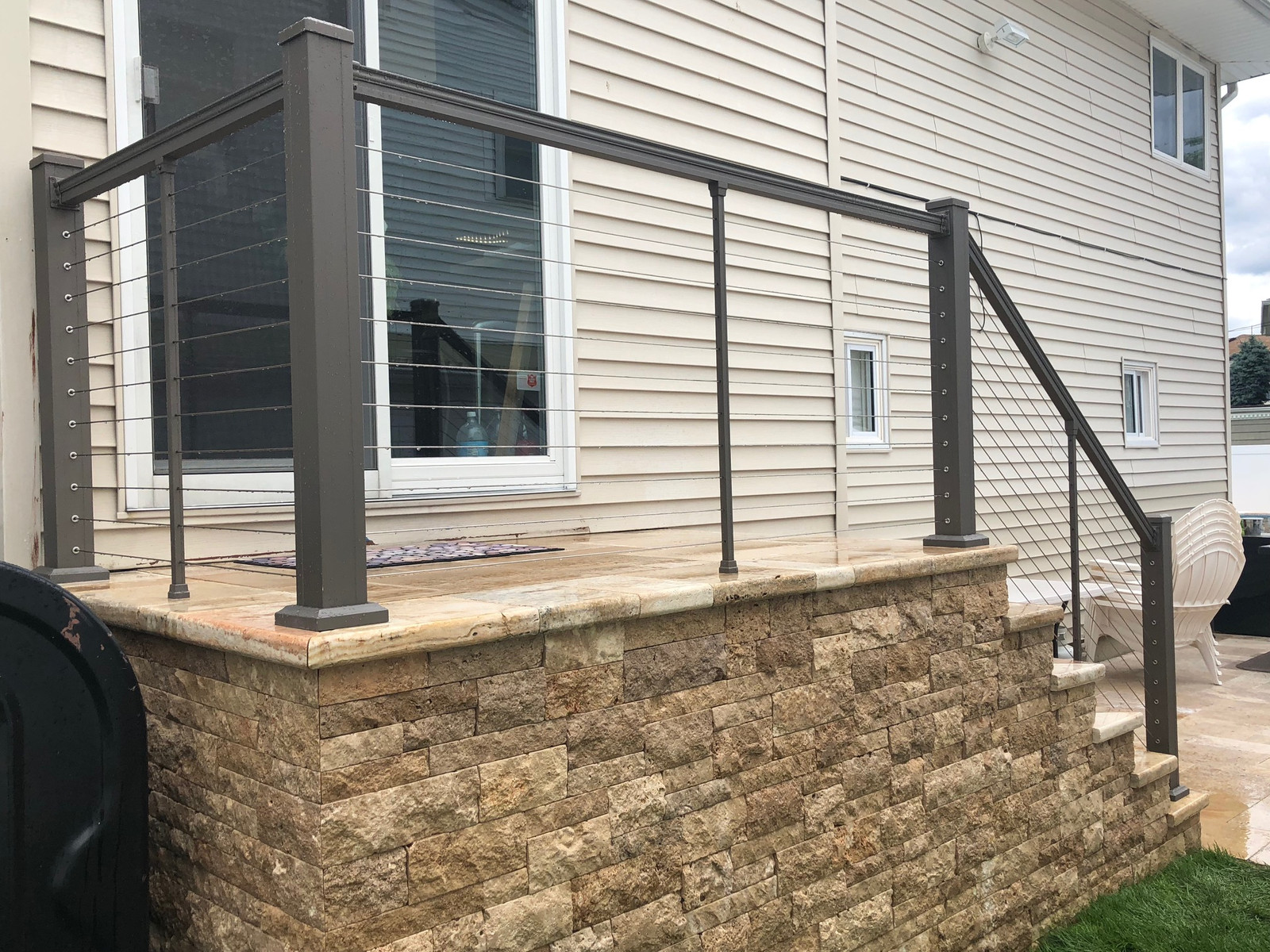 Cable Railing Installation Family Fence