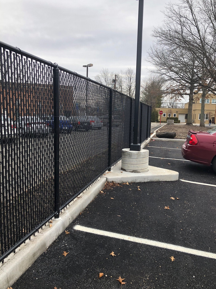 Vinyl Coated Chainlink Fence