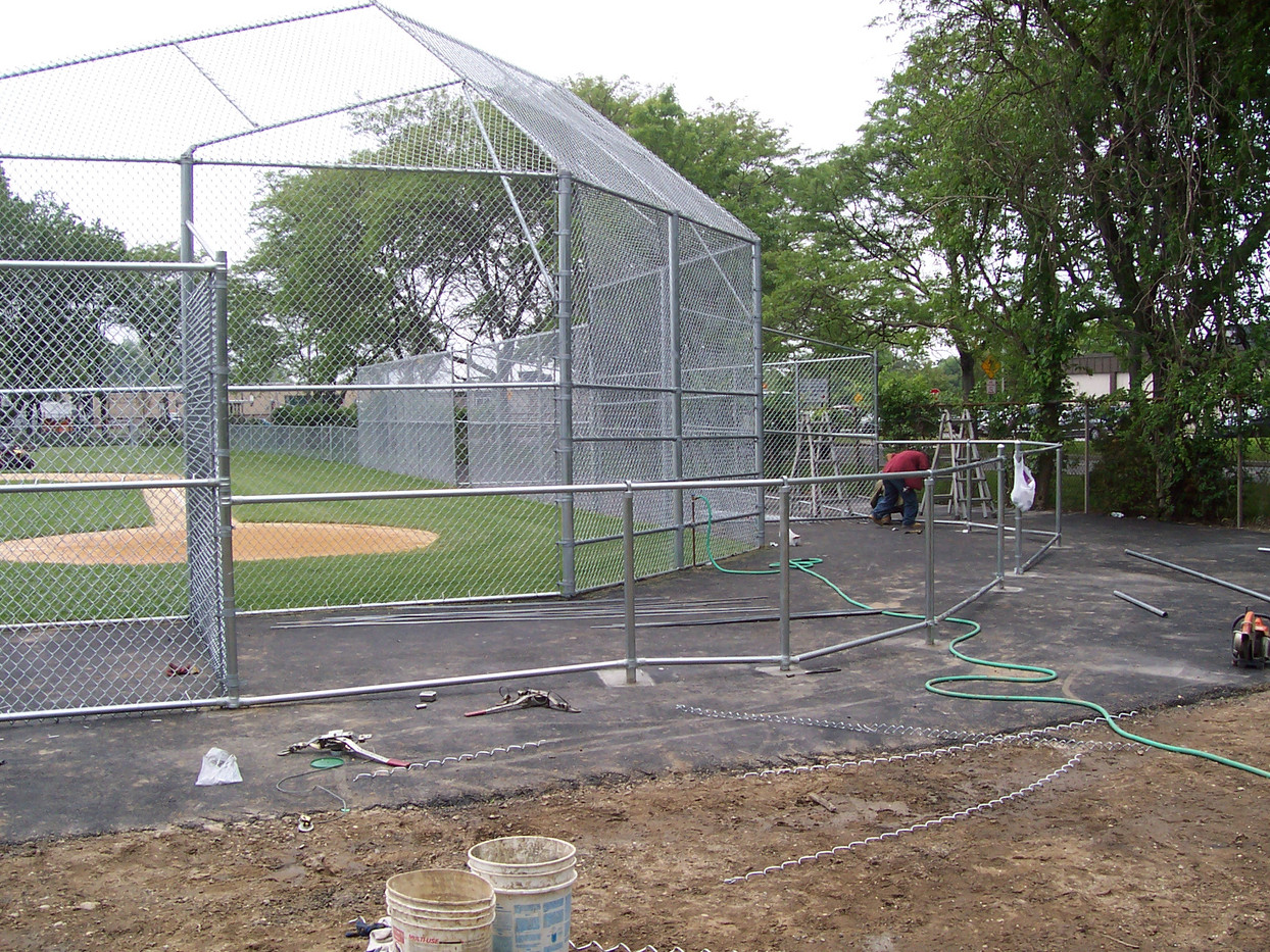 Chainlink Batting Cage