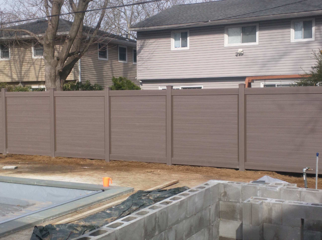 Bufftech horizontal Fence