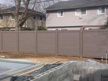 Bufftech horizontal Fence