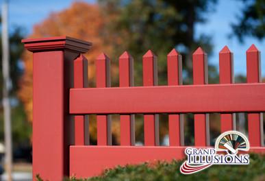 Grand illusions pvc fence