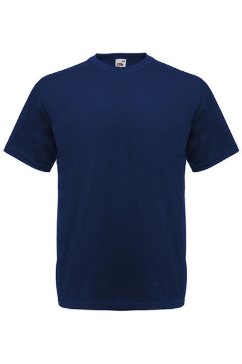 Syvän sininen VALUEWEIGHT T-PAITA