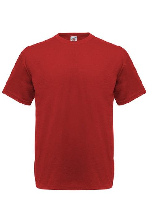 Tiilen punainen VALUEWEIGHT T-PAITA