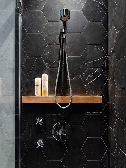 Murray Street modern bathroom shower