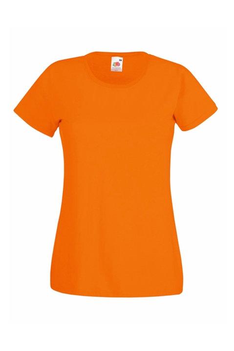 Oranssi VALUEWEIGHT T-PAITA Lady-Fit