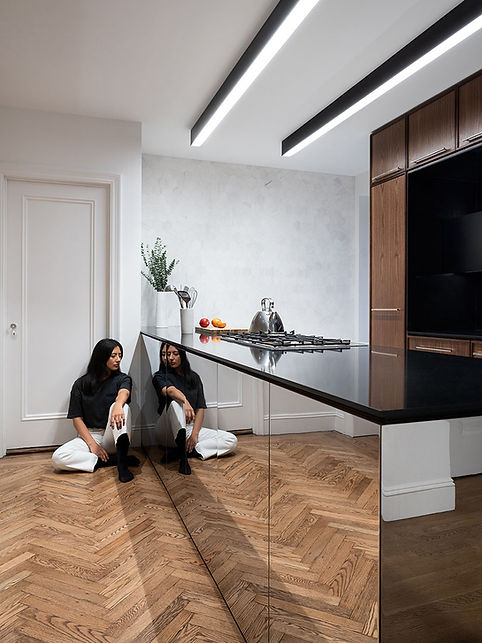East 51st Kitchen modern reflection