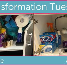Transformation Tuesday: Under the Bathroom Vanity