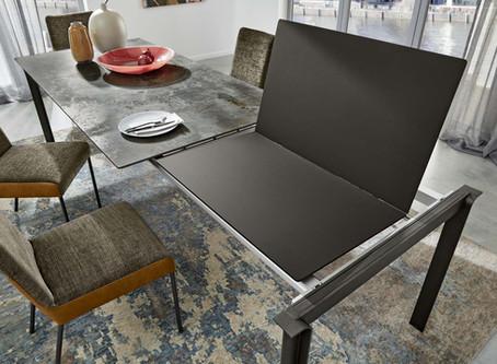 Виды обеденных кухонных раскладных столов