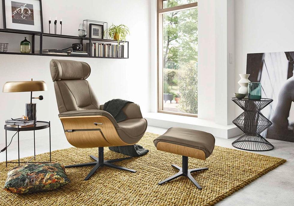 Кресло-реклайнер Musterring MR276