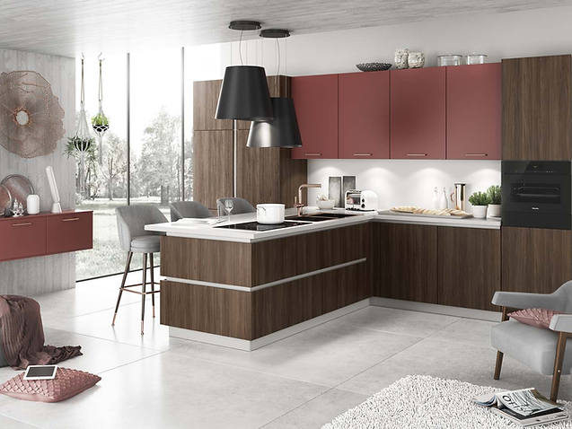 Немецкие кухни Bauformat Küchen