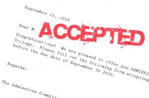 Class of 2016 College Acceptances