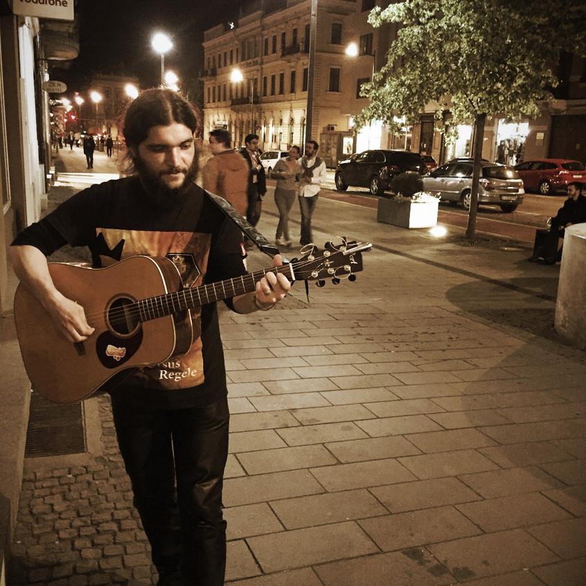 Musician Gabriel Hurmuzache
