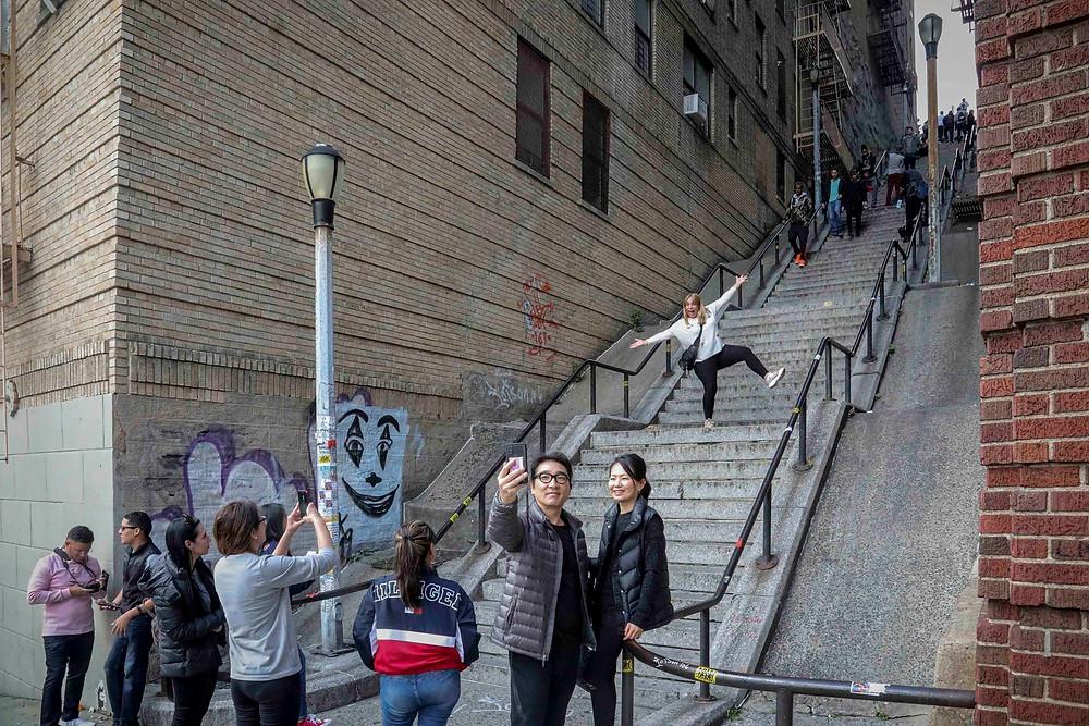 Joker Stairs, The Bronx, NY, (Bebeto Matthews   Bebeto Matthews / The Associated Press)