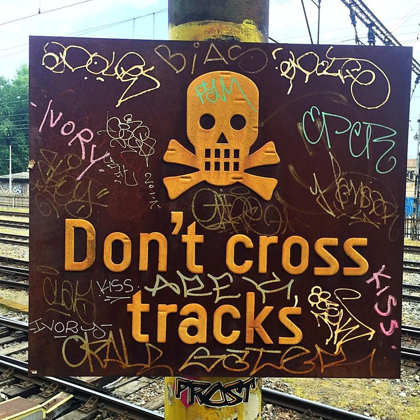 Railroad Tracks, Prague