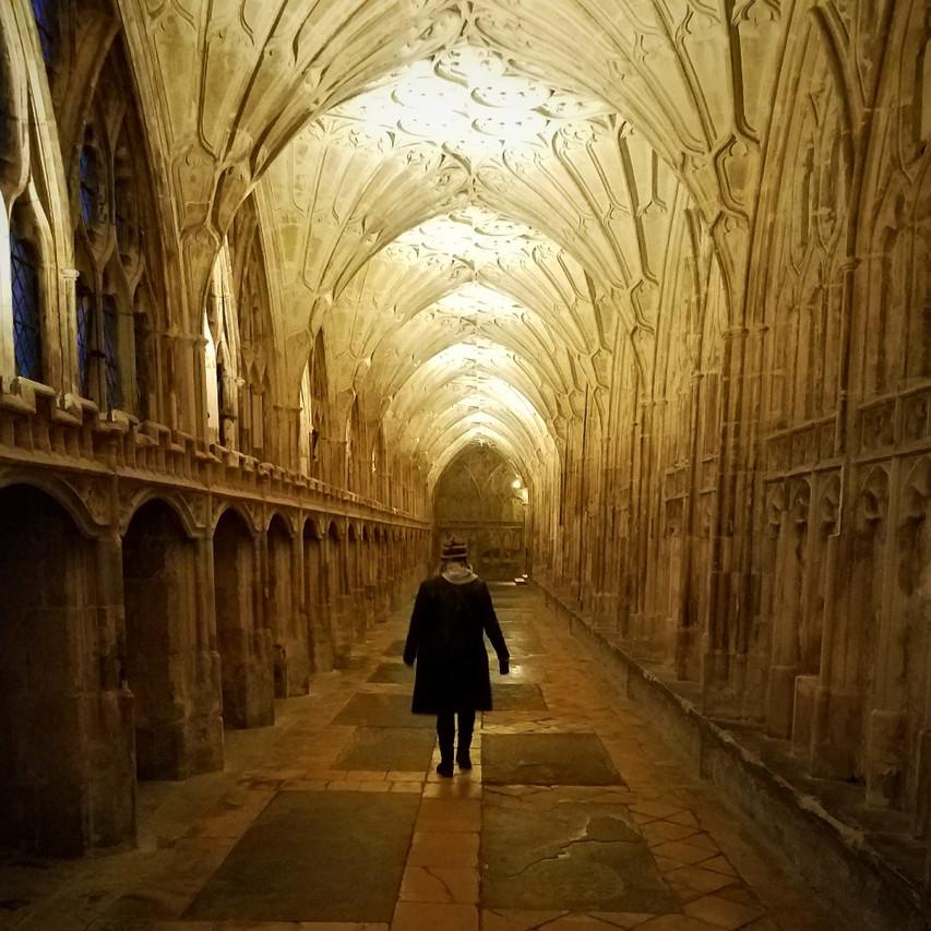 Glouchester Cathedral Cloisters - Hogwarts Hallways
