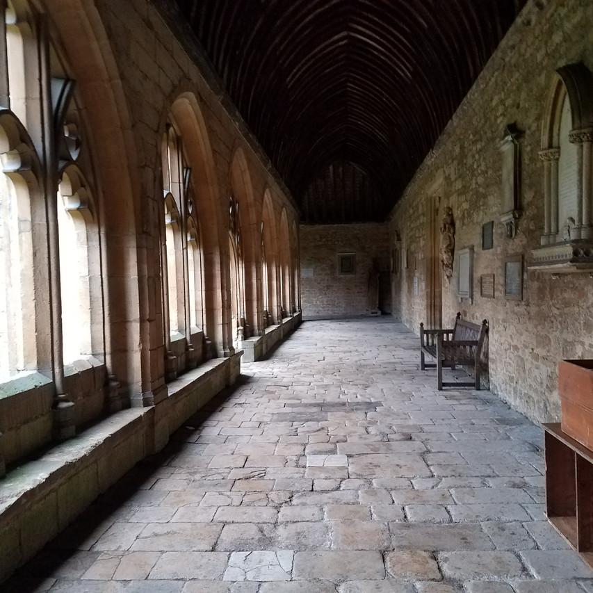 Hogwarts Cloisters (New School, Oxford)