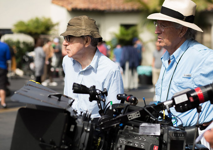 On the Set - Café Society