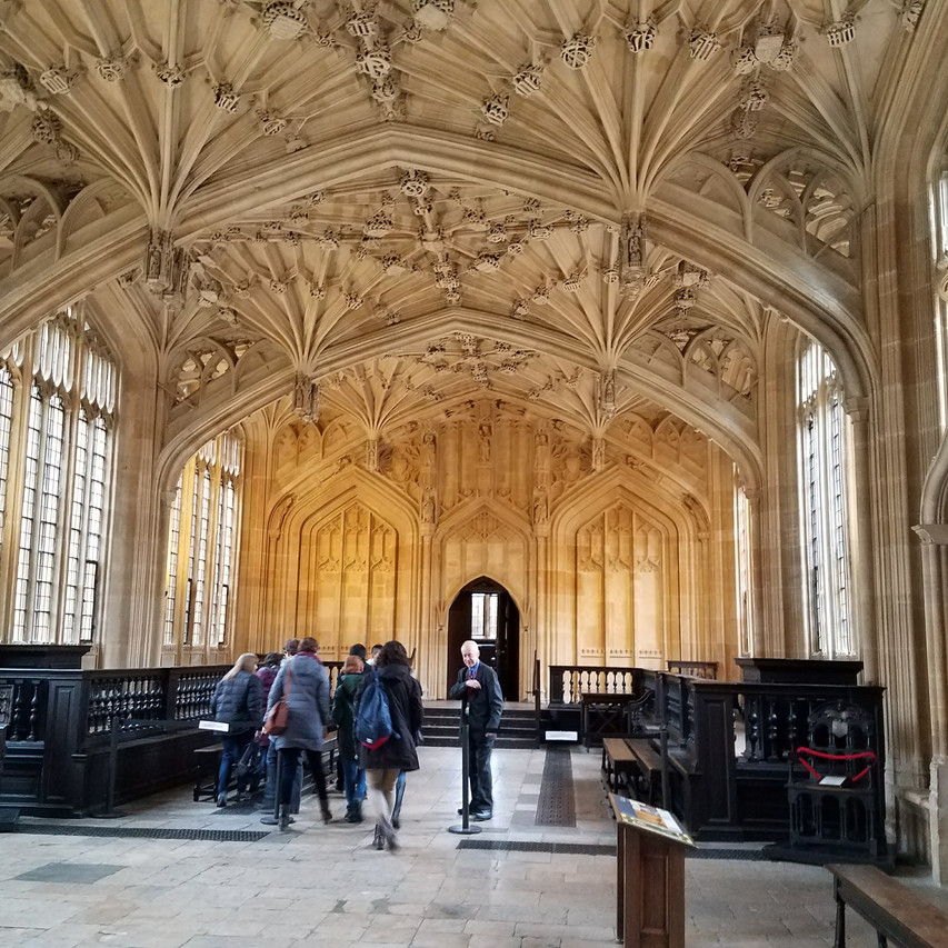 The Divinity School at Bodleian Libary Oxford - Goblet of Fire