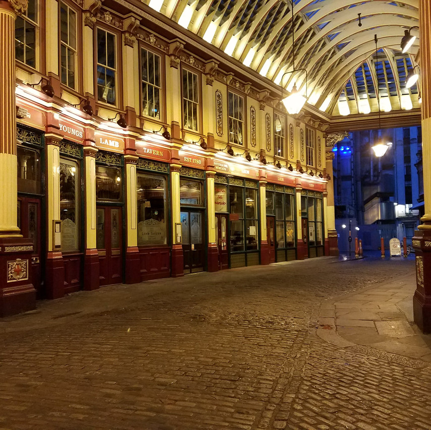 Leadenhall Market - Entrance to the Leaky Cauldron in Year 1