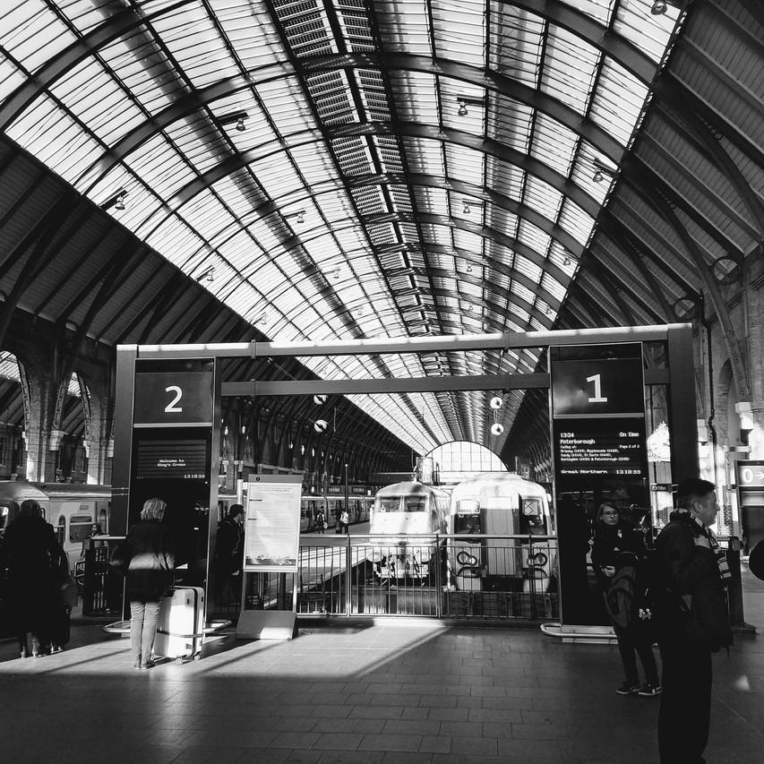 Interior St Pancras Station - Hogwart's Express