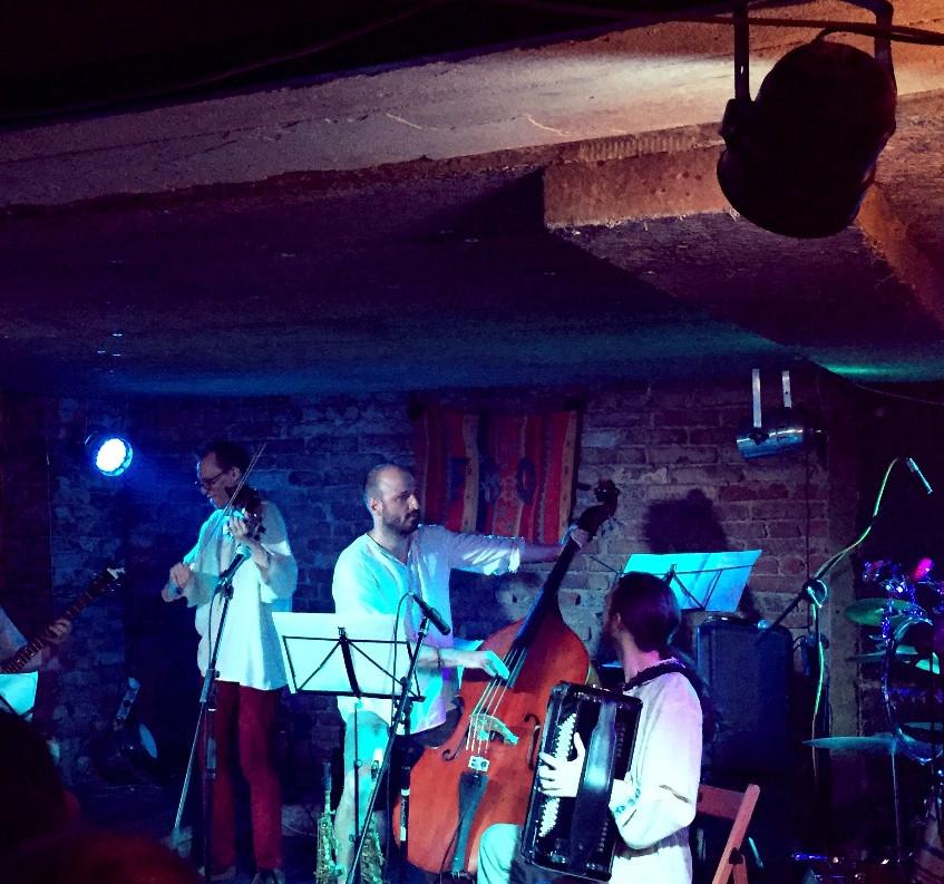 Balkin Quintet @ Cafe V Lese