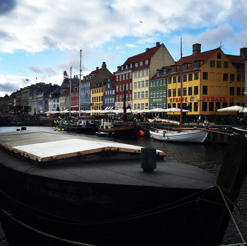 Boats in Nyhavn