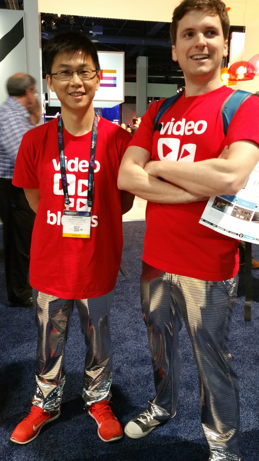 Video Blocks are killing the game with these baller pants