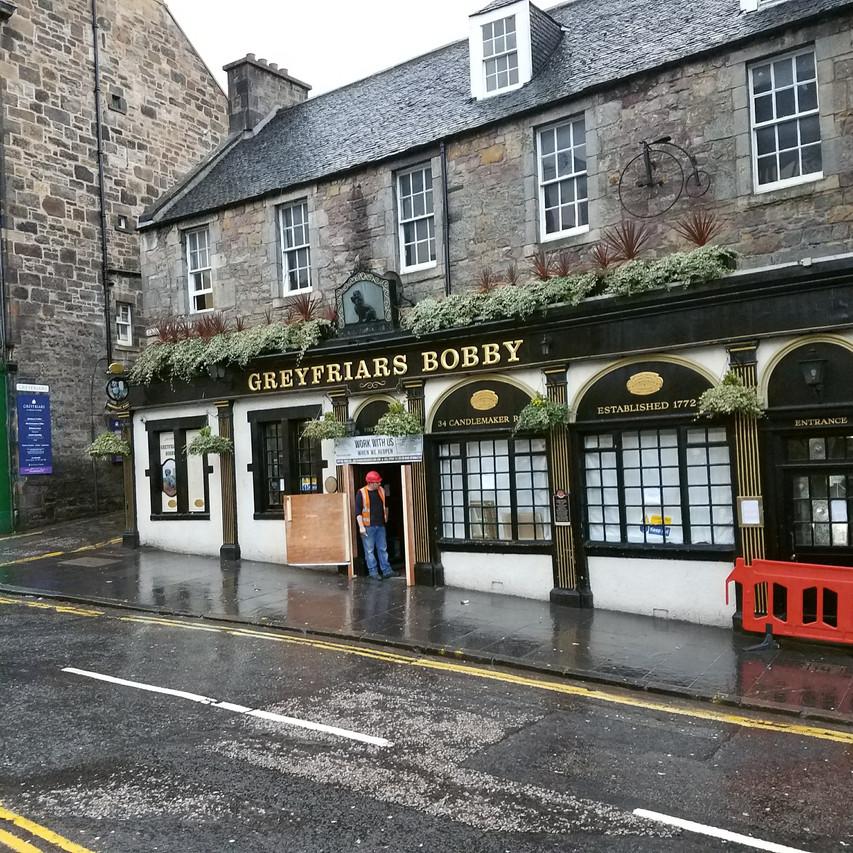 Greyfriar's Bobby's Bar, Edinburgh