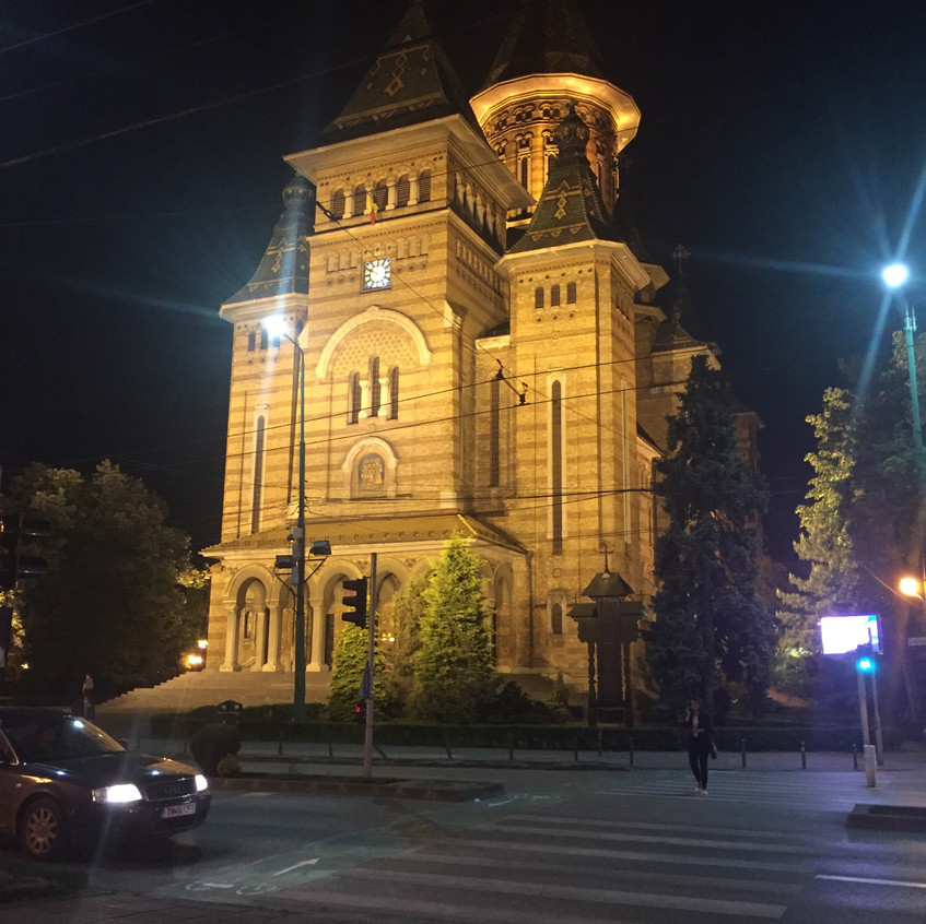 Timişoara Ordothox Cathedral