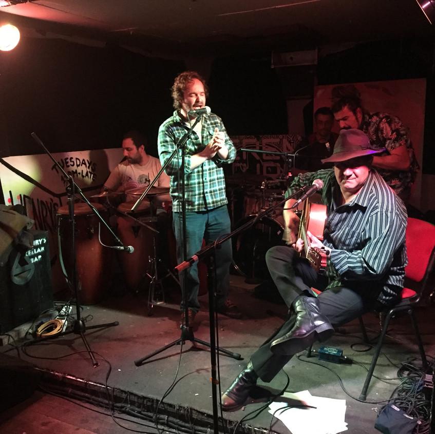 Spanish band @ Henry's Cellar Bar